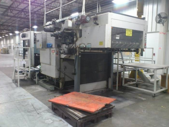 Pic 1 Bobst SP126 BMA Hot Stamping Machine