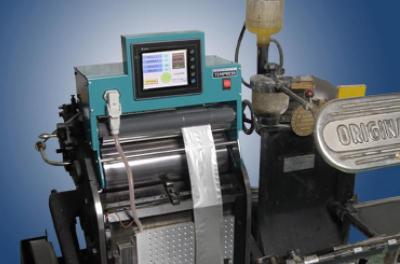 Pic 1 NEW !!! Hot foil system for Heidelberg platen T and GT