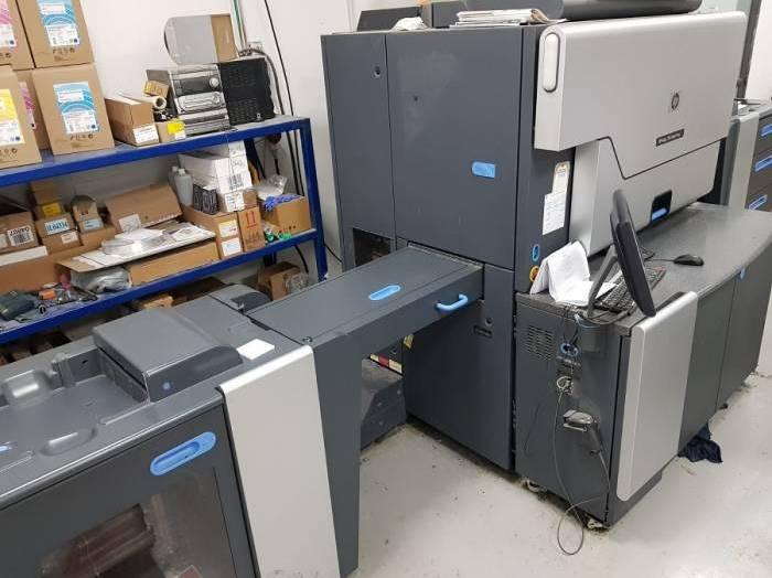Used HP Hewlett Packard Indigo 7500 for sale en66079 Pressdepo