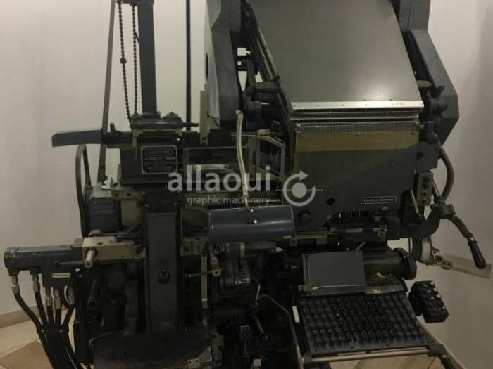 Used Linotype 53 en56529 Pressdepo