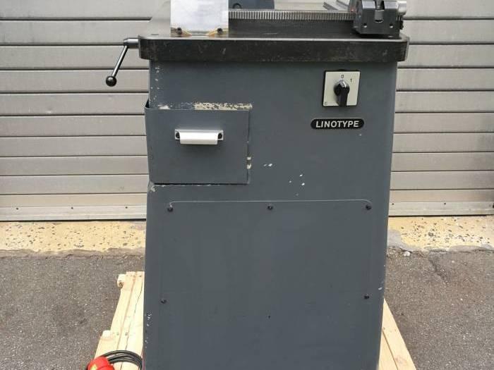 Used Linotype IDEAL Säge/Saw S40 01 en57024 Pressdepo