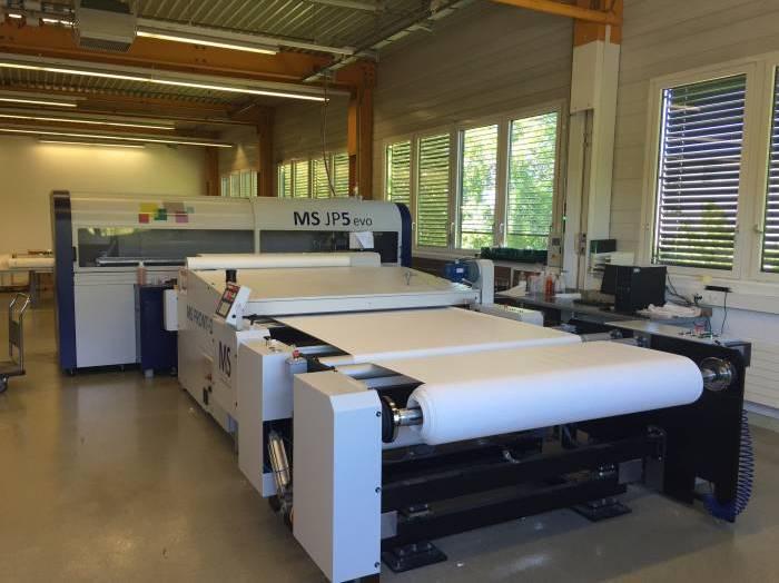 Used MS JP5 Evo printer for sublimation inks for sale en41928