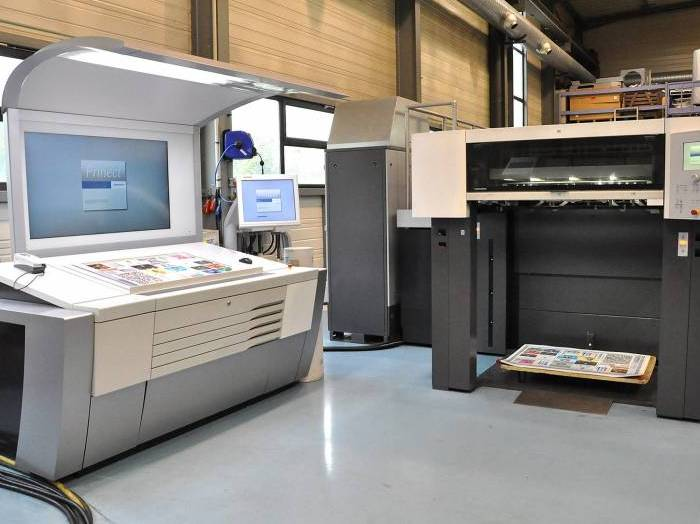 Picture5 Heidelberg XL 106-4 LX totally reconditionned in our workshops