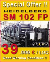 Printing machines auction