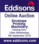 Envelope Printing Machinery AUCTION